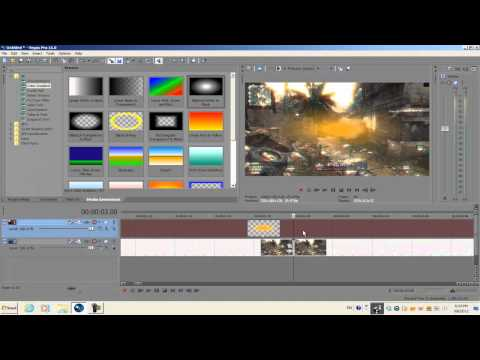 Sony Vegas Pro 11: Light Burst Transition