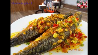 Bí quyết để làm cho món Cá không bị tanh - Cá Nục Makrele rim Tỏi Ớt by Vanh Khuyen