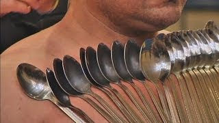Magnetic Man: Georgian Man Breaks Record For Sticking