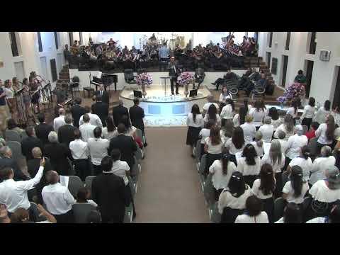 Círculo de Oração AD Içara e Orquestra Sinfônica Celebração - Deus é Deus - 08 04 2018