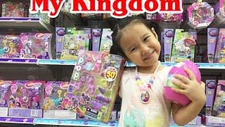 Dâu tây đi siêu thị đồ chơi MyKingDom - Siêu thị đồ chơi trẻ em - Dâu Tây Channel