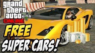 """GTA 5 Online """"Free Super Cars""""! Solo Insurance Glitch"""
