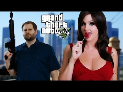 GTA 5 Rap Song - Bitch It's Grand Theft Auto! - GTAV