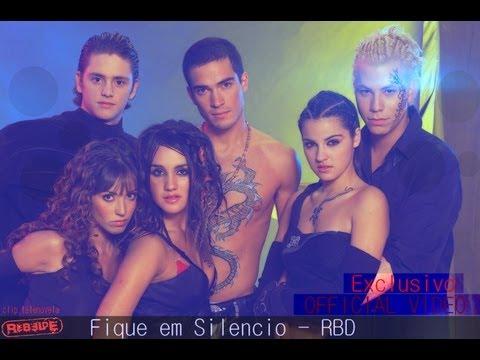 RBD - FIQUE EM SILENCIO (Official Clip Telenovela) HD