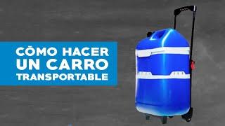 Como hacer un contenedor transportable