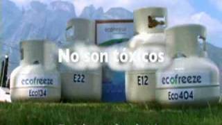 Gas Refrigerante Natural Ecofreeze