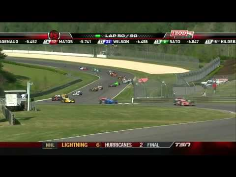 Part 10 of 15 - Indycar 2011 Round 2 Barber race