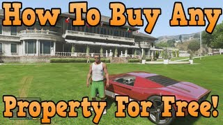 """GTA 5"" How To Buy Any Property For Free! ( Easy Glitch"