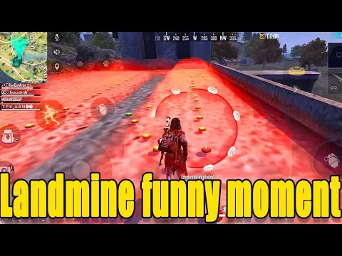 Fun with landmine || Free fire wtf moment|| Free FIRE funny Gameplay|| Run Gaming Tamil