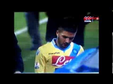 Napoli Lazio 1 0 Insigne manda a fanculo i tifosi per i fischi durante la sostituzione