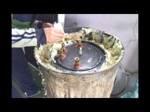 Como se hace deposito termo para agua caliente gratis