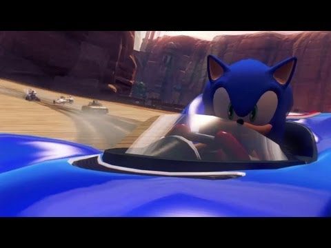 Sonic & Sega All-Stars Racing Transformed Announcement Trailer, Check out the debut trailer for Sonic & Sega All-Stars Racing Transformed! Follow Sonic & All-Stars Racing Transformed at GameSpot.com! http://www.gamespot.c...