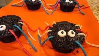 [Spider Cupcakes (Halloween Treats)] Video