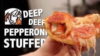 DEEP DEEP PEPPERONI STUFFED CRUST PIZZA