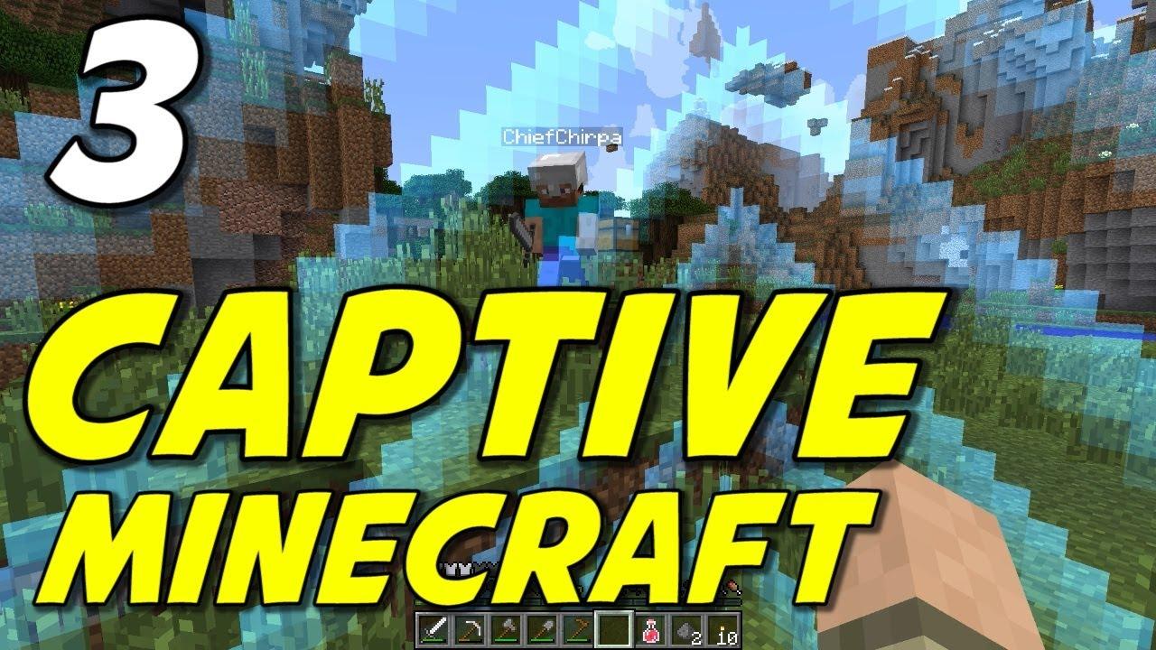 how to get minecrftaft captive map