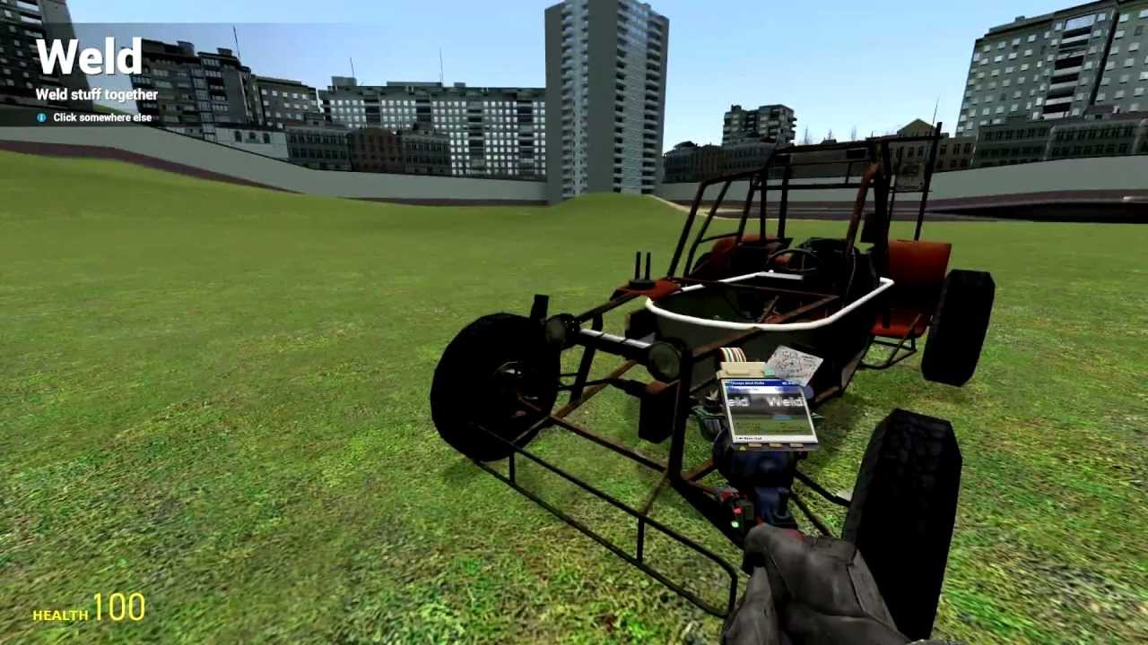 Garry s mod how to build an awesome car youtube