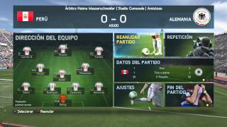PERU VS ALEMANIA COPA MUNDIAL 2014 FIFA 14