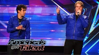 """Diverse: Jersey Boy Band Breaks the Buzzers with an """"I Gotta Feeling"""" Cover - America's Got Talent"""