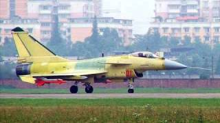 Chinese Fighter Aircraft : J-10,J-11,J-20