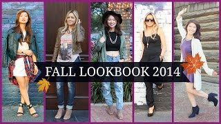 Fall Fashion 2014 Lookbook (9 Outfit Ideas)