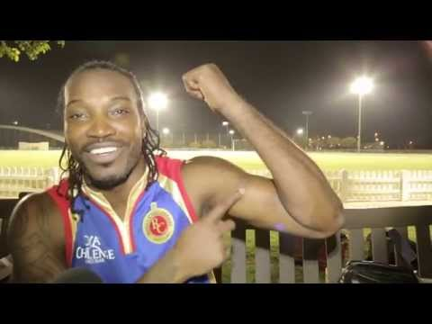 Chris Gayle arrives in UAE