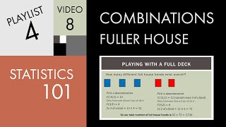 Statistics 101: Combinations - Playing with a Full Deck