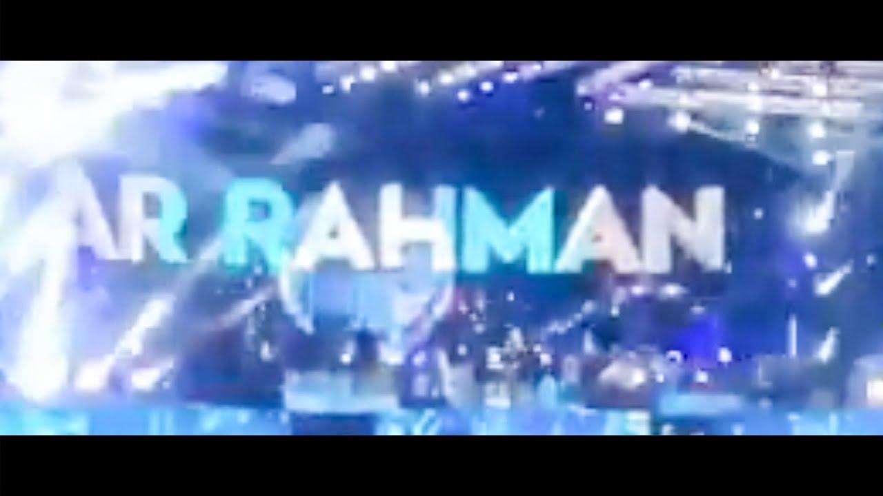 🔴LIVE: AR Rahman Singap penney perfomance Live in Chennai Concert | ARR 2019