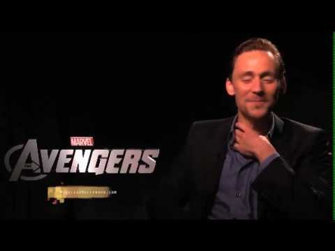 Tom Hiddleston Exclusive interview by Monsieur Hollywood Part 1 of 2 'The Avengers'
