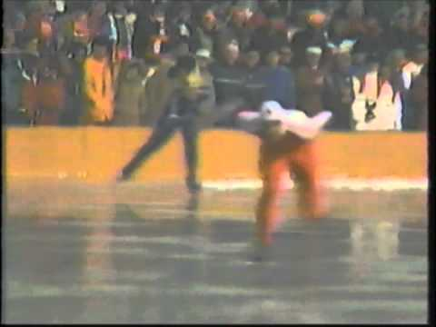 1984 Winter Olympics – Men's 1000 Meter Speed Skating Part 2