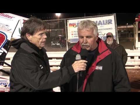 Williams Grove Speedway 410 Sprint Champions Interview 10-26-13