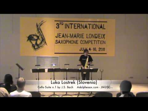 3rd JMLISC: Luka Lostrek (Slovenia) Cello Suite n.1 by J.S. Bach