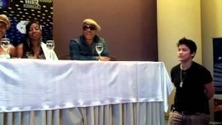 Boney M y The Sacados en Paraguay - Conferencia de prensa 4 view on youtube.com tube online.