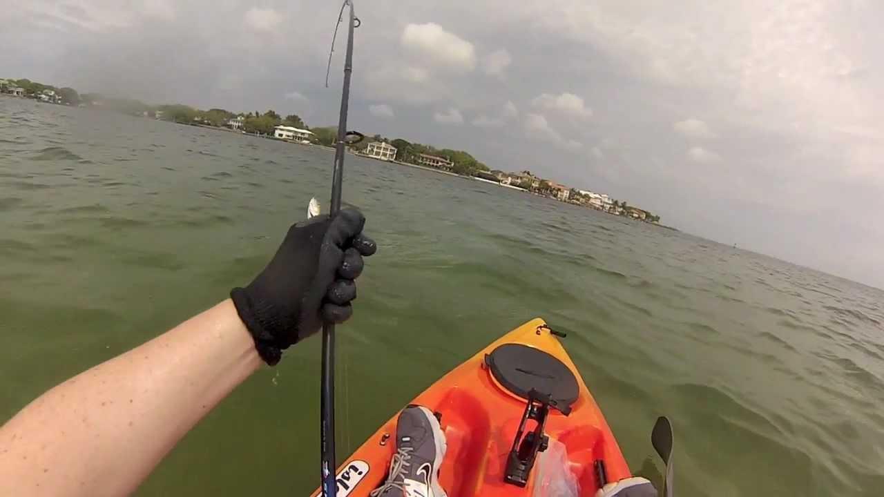 for Youtube kayak fishing
