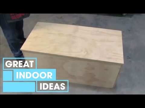 Better Homes and Gardens - How to build a storage chest - YouTube