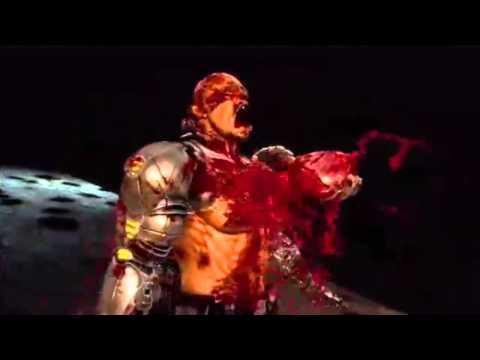 Mortal Kombat 9 MK9  Kano heart rip Fatality  MK9 MK 2011 Mortal Kombat 2011