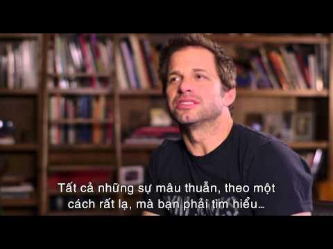 Man Of Steel _ Người Đàn Ông Thép _ Phỏng vấn đạo diễn Zack Snyder