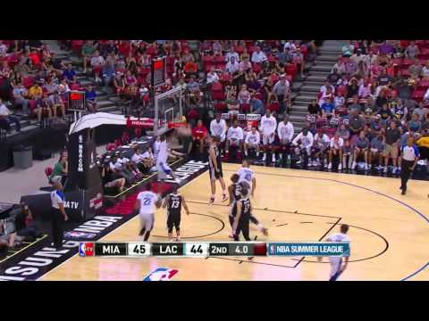 Miami Heat vs Los Angeles Clippers | July 14, 2014 | NBA Summer League 2014