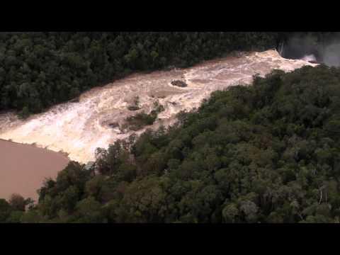 Barron Falls after Cyclone Ita
