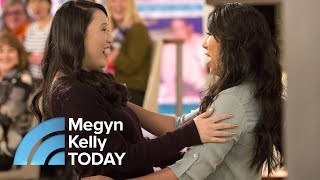 Separated At Birth 33 Years Ago, Identical Twins Meet For The First Time | Megyn Kelly TODAY