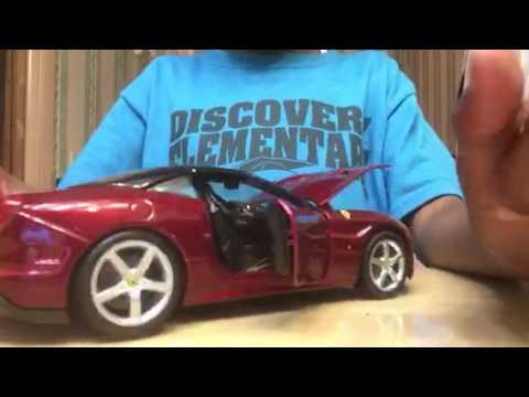 Maisto 1/18 scale Ferrari California t review