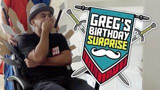 Greg's Medieval Surprise Performance!