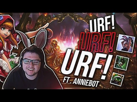 URF URF URF | MY HAND HURTS!!! ft. Annie bot, Afflictive • Dyrus