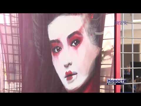 Великие женщины ХХ века в стиле граффити: в Бердске открылась выставка художника Андрея Кукшева