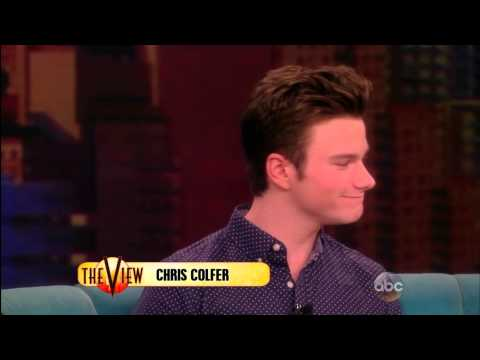 mjsbigblog.com - Chris Colfer - The View - 7/8/14