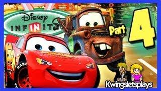 Disney Infinity Wii U Walkthrough Cars Part 4 Francesco