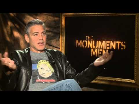 The Monuments Men: Director George Clooney