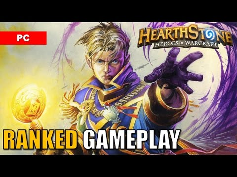 HEARTHSTONE Gameplay Ranked Standard Deck: Priest vs Shaman