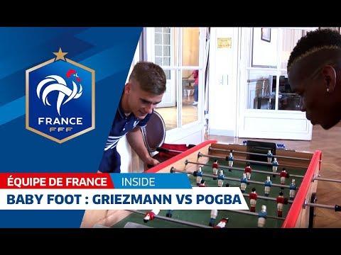 Match Griezmann contre Pogba !