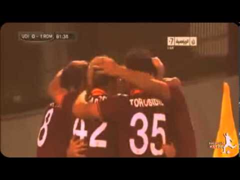 Udinese vs AS Roma 0-1 All Goals HD 27/10/2013