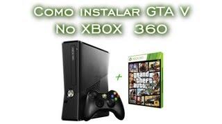 Como Instalar No Xbox 360 HD GTA V [PT-BR]